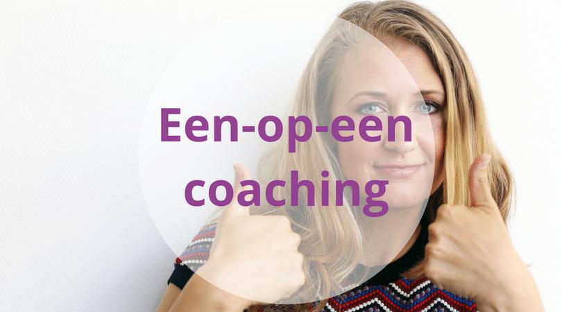 een-op-een coaching